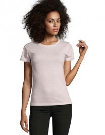 Women`s Round Neck Fitted T-Shirt Regent